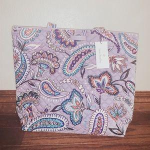 NWT Vera Bradley Iconic Tote Bag in Makani Paisley